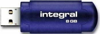 USB Flash Drive Integral Evo 8GB Albastru