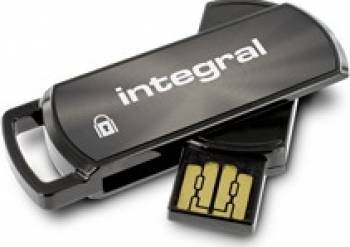 USB Flash Drive Integral 360 8GB Secure Negru USB Flash Drive