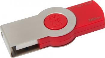 USB Flash Drive Kingston DataTraveler 101 Gen 3 32GB USB 3.0 Rosu