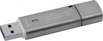 USB Flash Drive Kingston DataTraveler Locker+ G3 USB 3.0 64GB