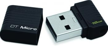 USB Flash Drive Kingston DataTraveler Micro 16GB Black