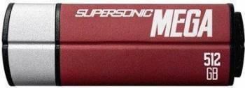 USB Flash Drive Patriot Supersonic Mega 512GB USB 3.1 Rosu USB Flash Drive