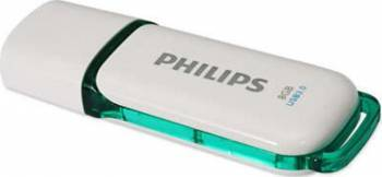 USB Flash Drive Philips Snow Edition USB 3.0 8GB Green USB Flash Drive