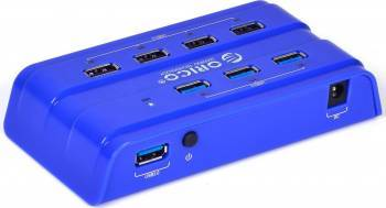 USB Hub Orico H7926-U3 3 x USB 3.0 4 x USB 2.0 Albastru