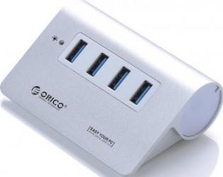 USB Hub Orico M3H4 4 x USB 3.0 Aluminium USB Hub