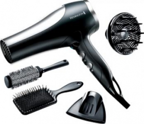 Uscator de par Remington Pro 2100 Dryer Gift Set D5017 Uscatoare de par