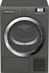 Uscator de rufe Beko DE8434RX0M Condensare si pompa de caldura 8 kg 16 programe Clasa A++ Gri Uscatoare de rufe