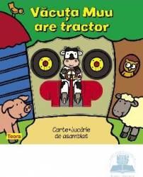 Vacuta Mu are tractor