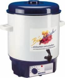 Vas automat Rommelsbacher Preparare gem si compot 27L 1800W Alb-albastru Aparate speciale de gatit