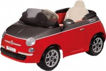 Vehicul copii Peg Perego Fiat 500 Red Grey