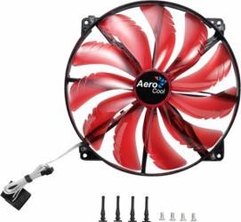 Ventilator Aerocool 200 mm 800 RPM Silent Master Red Ventilatoare Carcasa
