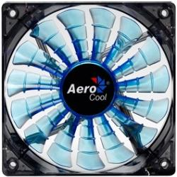 Ventilator Aerocool Shark Blue 12 cm Ventilatoare Carcasa