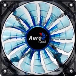 Ventilator Aerocool Shark Blue 14 cm Ventilatoare Carcasa