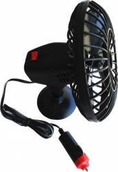 Ventilator auto mini Ro Group 12V Negru Accesorii Auto Exterioare si Interioare