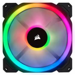 Ventilator Carcasa Corsair LL140 RGB LED Static Pressure 140mm PWM Ventilatoare Carcasa