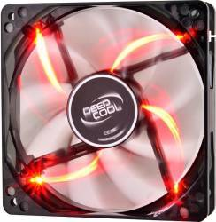 Ventilator carcasa DeepCool Wind Blade 120mm Red LED Ventilatoare Carcasa