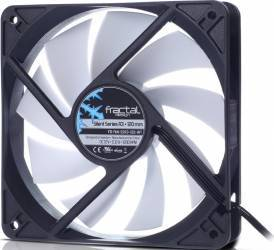 Ventilator Carcasa Fractal Design Silent Series R3 120mm negru-alb