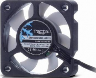 Ventilator Carcasa Fractal Design Silent Series R3 40mm negru-alb