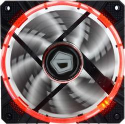 Ventilator carcasa ID-Cooling CF-12025-R 120mm Red LED Ventilatoare Carcasa