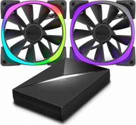 Ventilator Carcasa NZXT Aer RGB 120mm & HUE+ Ventilatoare Carcasa