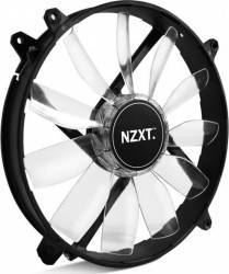 Ventilator Carcasa NZXT FZ 200mm Green LED Ventilatoare Carcasa