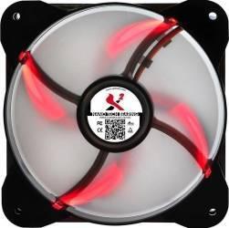 Ventilator carcasa X2 Ledtrax Red LED Ventilatoare Carcasa