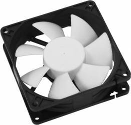 Ventilator Cooltek Silent Fan 80 80mm Negru-Alb