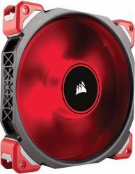Ventilator Corsair Air Series ML140 Magnetic Levitation 140mm PWM Red LED Ventilatoare Carcasa