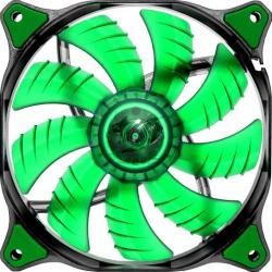 Ventilator Cougar Dual-X Green LED CF-D14HB-G 140mm Ventilatoare Carcasa
