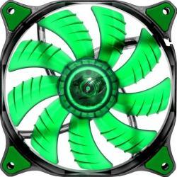 Ventilator Cougar Dual-X Green LED CF-D14HB-G 140mm Ventilatoare Carcasa