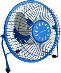 Ventilator de birou Esperanza EA149B, 2.5W Albastru Ventilatoare