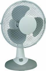 Ventilator de birou Heller TWV 236 30W 25cm 3 Viteze oscilatii Alb/Gri Ventilatoare