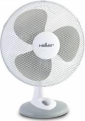 Ventilator de birou Heller TWV 336 40W 30cm 3 Viteze oscilatii Alb/Gri Ventilatoare