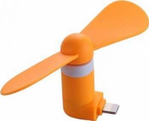 Ventilator Mini Portabil Benks Lightning Orange Accesorii Diverse Telefoane