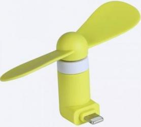 Ventilator Mini Portabil Benks Lightning Verde Accesorii Diverse Telefoane