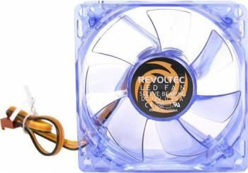 Ventilator Revoltec Dark Blue 120mm Blue LED