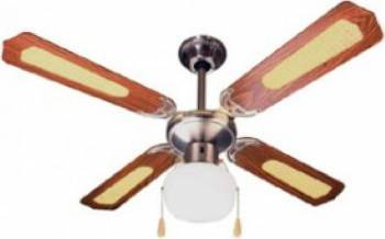 Ventilator rotativ de tavan Ardes AR5A107D 60W 3 viteze 107cm Maro Ventilatoare