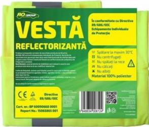 Vesta reflectorizanta RoGroup Kit uri Siguranta Auto