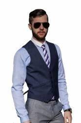 Vesta Barbati Antonio Gatti Bleumarin Eleganta V002-B 50 - XL Geci si Veste barbati