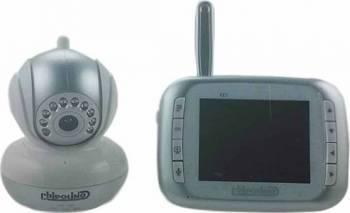 Video monitor Chipolino Visio silver Monitorizare bebelusi