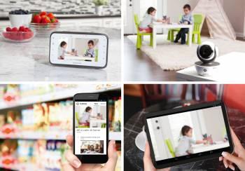 Videofon digital + Wi-Fi MBP854 Connect Motorola Monitorizare bebelusi