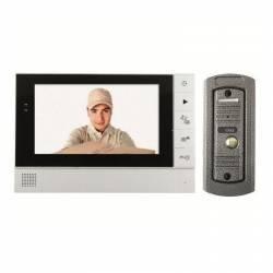 Videointerfon poarta cu fir monitor LCD color infrarosu memorare poze Home Videointerfoane