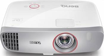 Videoproiector Gaming Benq W1210ST FullHD 1080p 3DBrilliant Color Low Input Lag + Ecran  Video Proiectoare