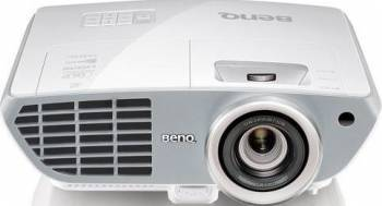 Videoproiector BenQ W1350+Ochelari 3D Bonus Ecran de proiectie BenQ