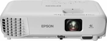 Videoproiector Epson EB-S05 SVGA 3200 lumeni Alb Video Proiectoare