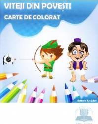 Viteji din povesti Carte de colorat