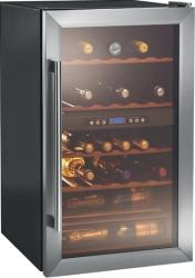 Vitrina frigorifica pentru vinuri Hoover HWC 2335 115L 33 Sticle Negru Frigidere Combine Frigorifice