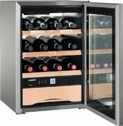 Vitrina frigorifica pentru vinuri Liebherr WKES 653 38L A+ Inox Frigidere Combine Frigorifice