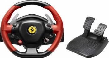 Volan cu Pedale Thrustmaster Ferrari 458 Spider Racing Wheel Xbox One Gamepad & Joystick