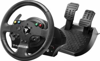 Volan cu pedale Thrustmaster TMX Force Feedback PC Xbox One Gamepad & Joystick